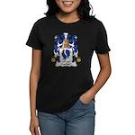 Cochet Family Crest Women's Dark T-Shirt
