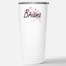 Briana Artistic Name De Travel Mug