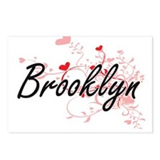 Brooklyn Artistic Name De Postcards (Package of 8)