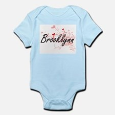 Brooklynn Artistic Name Design with Hear Body Suit