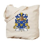 Clercq Family Crest Tote Bag