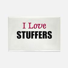 I Love STUFFERS Rectangle Magnet