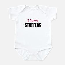 I Love STUFFERS Infant Bodysuit