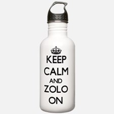 Keep Calm and Zolo ON Water Bottle