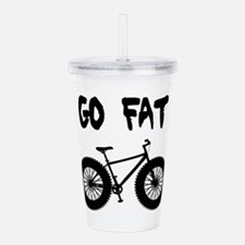 Go Fat-Fat Bikes Acrylic Double-Wall Tumbler
