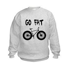GO FAT-FAT BIKES Sweatshirt