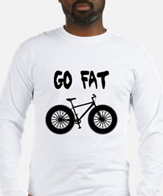 GO FAT-FAT BIKES Long Sleeve T-Shirt