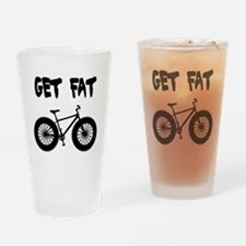 GET FAT-FAT BIKES Drinking Glass