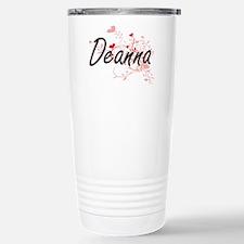 Deanna Artistic Name De Stainless Steel Travel Mug