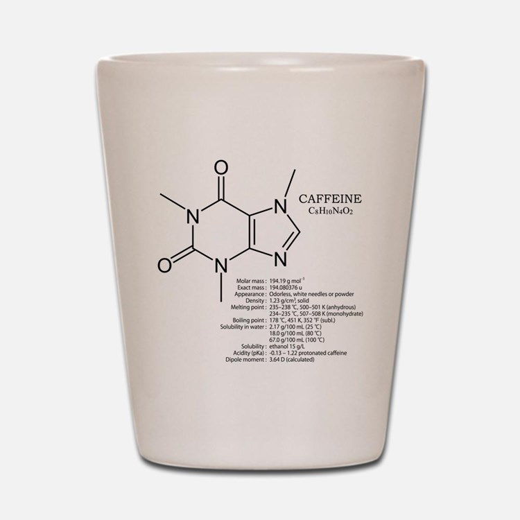caffeine: Chemical structure and formula:coffee Sh