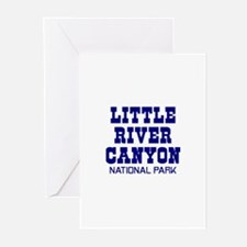 Little River Canyon National Greeting Cards (Pk o