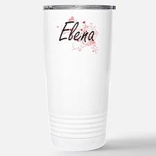 Elena Artistic Name Des Stainless Steel Travel Mug