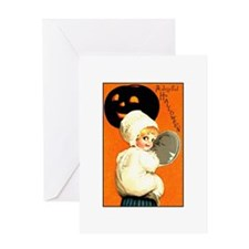 Halloween Kewpie Greeting Card