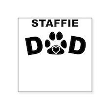 Staffie Dad Sticker