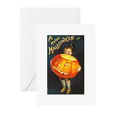 Halloween Pumpkin Greeting Cards (Pk of 10)