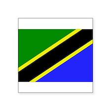 """Cute Tanzania Square Sticker 3"""" x 3"""""""