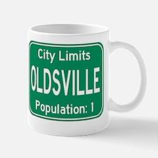 Oldsville City Limits Mug