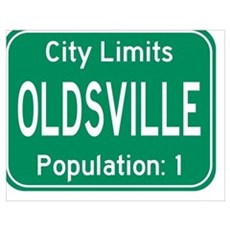 Oldsville City Limits Poster