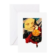 Cute Witch Greeting Card