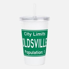 Oldsville City Limits Acrylic Double-wall Tumbler