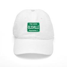 Oldsville City Limits Baseball Baseball Cap