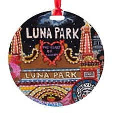 Luna Park Coney Island, New York  Ornament
