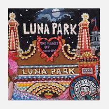 Luna Park Coney Island, New York  Tile Coaster