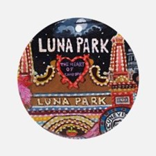 Luna Park Coney Island, New York  Round Ornament
