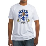 Chopin Family Crest  Fitted T-Shirt