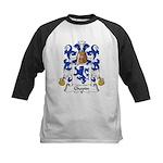 Chopin Family Crest  Kids Baseball Jersey