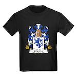 Chopin Family Crest  Kids Dark T-Shirt