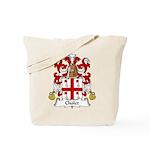Cholet Family Crest  Tote Bag