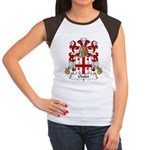 Cholet Family Crest  Women's Cap Sleeve T-Shirt