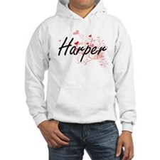 Harper Artistic Name Design with Hoodie