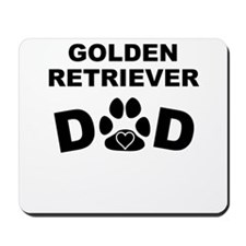 Golden Retriever Dad Mousepad