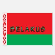 Belarus Flag Postcards (Package of 8)