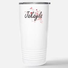 Jakayla Artistic Name D Travel Mug