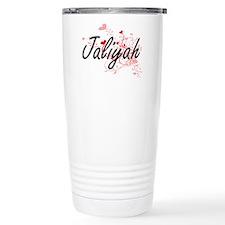 Jaliyah Artistic Name D Travel Mug
