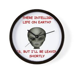 alien area 51 gifts Wall Clock