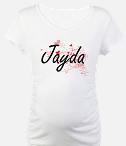 Jayda Artistic Name Design with Shirt