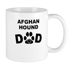 Afghan Hound Dad Mugs