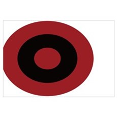 Albanian_Roundel Canvas Art