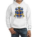 Chesnes Family Crest Hooded Sweatshirt