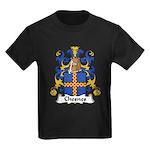 Chesnes Family Crest Kids Dark T-Shirt