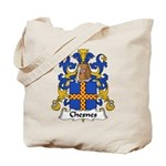 Chesnes Family Crest Tote Bag