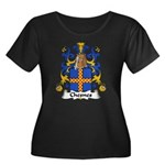 Chesnes Family Crest Women's Plus Size Scoop Neck