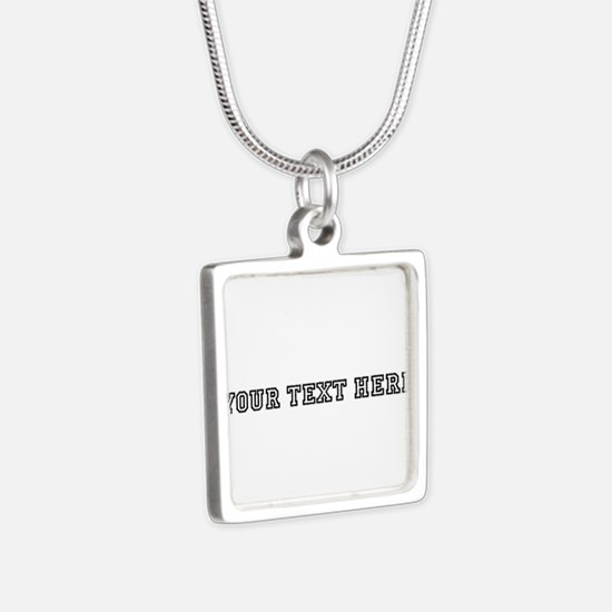 Personalised Template Necklaces