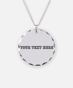 Personalised Template Necklace