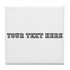Personalised Template Tile Coaster