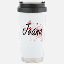 Joana Artistic Name Des Travel Mug